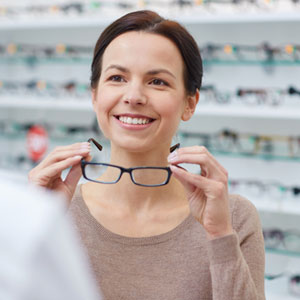 Optician store tags